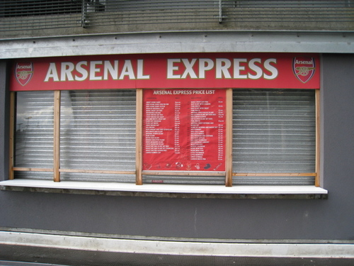 Arsenal Swag Booth